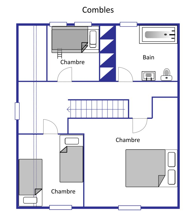 Chalet Grenouille layout